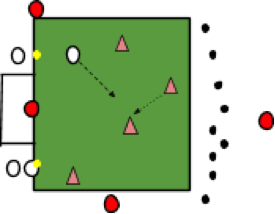 A fluid game with lots of shots taken under pressure!