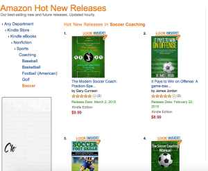 #2 in Amazon's Hot New Releases in Soccer Coaching